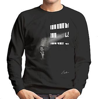 David Bowie In Edinburgh 1990 Men's Sweatshirt