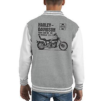 Хейнс Владельцы Семинар Руководство 2478 Harley Davidson Twin Cam 88 ND Kid'apos;s Varsity Куртка