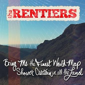Rentiers - Bring Me the Finest World Map Shower Curtain in Al [CD] USA import