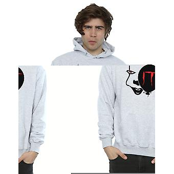 Pennywise sorriso Hoodie do os homens