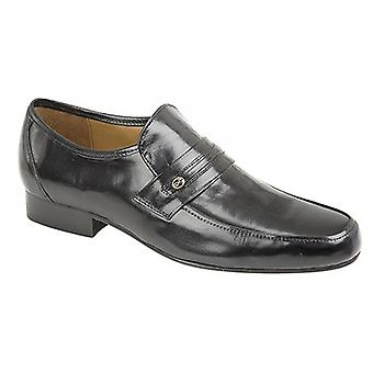 Kensington Classics Mens Metal Trim Saddle Casual Shoes