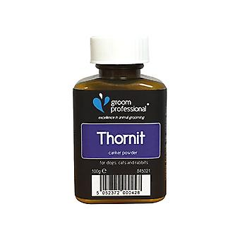 Groom Professional Thornit Ear Canker Powder - Tackles Ear Mites