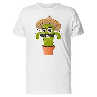 Funny Mexican Cactus Tee Men's -Image by Shutterstock