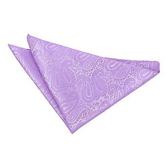 Mouchoir de poche de Paisley lilas