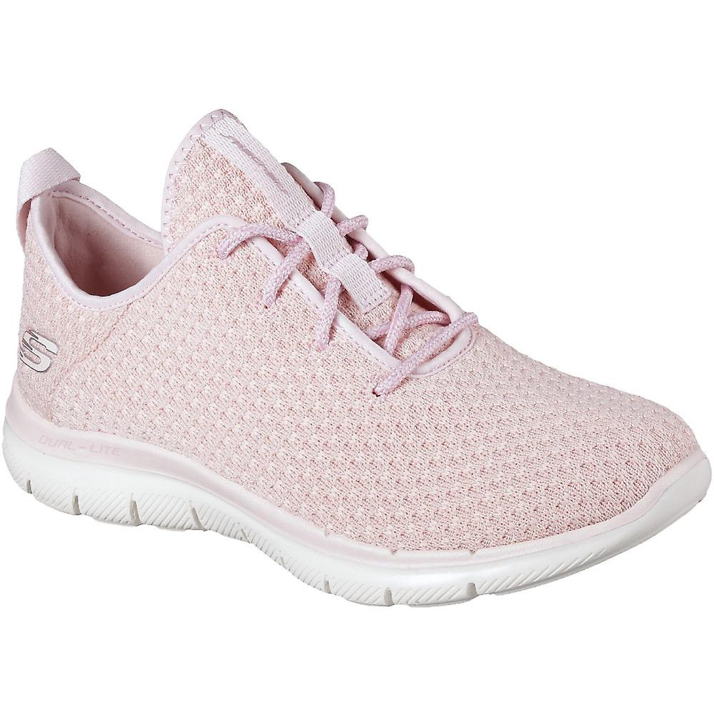 Skechers kvinnersdamer Flex appell 2.0 nye perle lett trenere sko