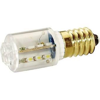 إشارة بناء مؤشر LED ضوء E14 الأحمر 230 V DC, 230 V AC 1100 مل MBRE141608