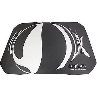 LogiLink Q1 Mate Mouse pad Black, White
