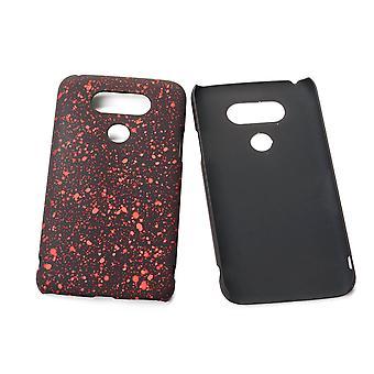 Cell phone cover case bumper skal för LG G5 3D stars röd