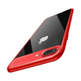 Ultra slim case for Apple iPhone 7 plus / 8 plus mobile case protection cover Red