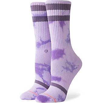 Stance Classic Uncommon Crew Crew Socks in Purple