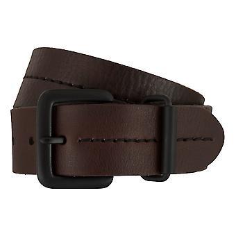 Timberland bälten mäns bälten läder bälte jeans brun 7437