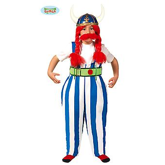 Guirca Dicker Gallic soldier costume for boys Gauls Carnival warriors