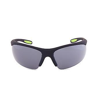 Fila Sport F1060 002 Wrap Sunglasses | Rubberized Black Frame | grey Lens