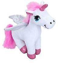 Plush Standing Unicorn - White