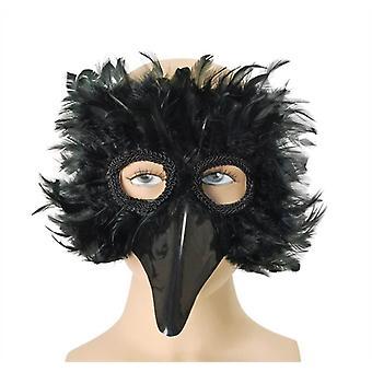 Maska oka černého ptáka