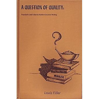 Vraagstuk van de kwaliteit door Filler - 9780879720773 boek