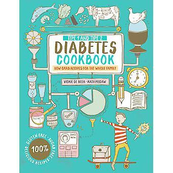 Typ 1 und Typ 2 Diabetes Kochbuch - Low-Carb Rezepte für die ganze F