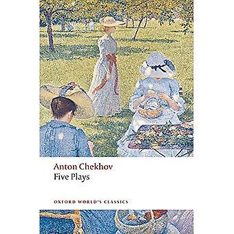 Fem spiller: Ivanov, krykkje, Onkel Vanja, tre søstre og Kirsebærhagen (Oxford verdens klassisk)