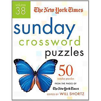 New York Times söndagen korsord volym 38:50 söndag pussel från sidorna av New York Times