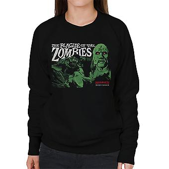 Hammer The Plague Of The Zombies Poster Women's Sweatshirt