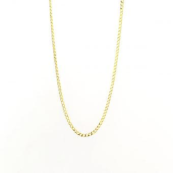 Eternity 9ct Gold 18'' Open Curb Chain