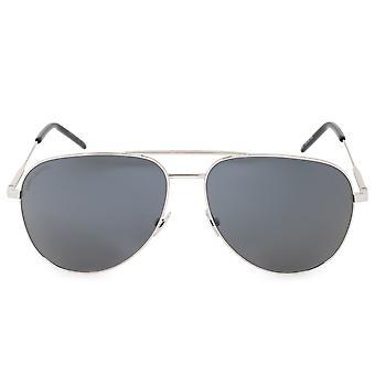 Saint Laurent CLASSIC 11 010 59 Aviator Sunglasses