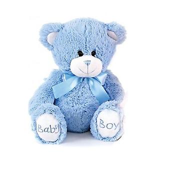 Blue 'baby Boy' Teddy Plush Soft Toy