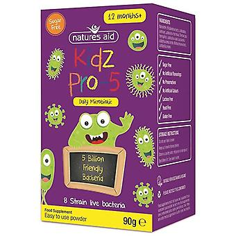 Nature's Aid Kidz PRO-5 (Daily Microbiotic) 90g (141300)
