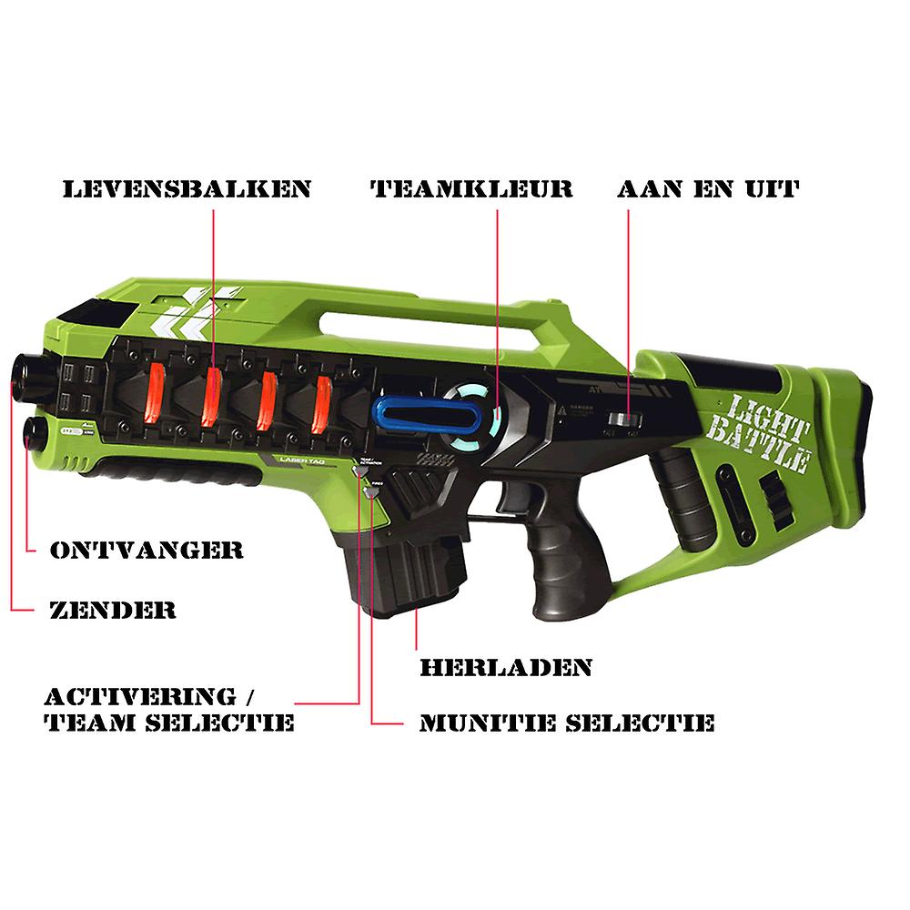 4 Anti-Cheat laser rifles (yellow, green, red and blue)