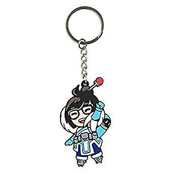 Key Chain - Overwatch - Mei Rubber j8628