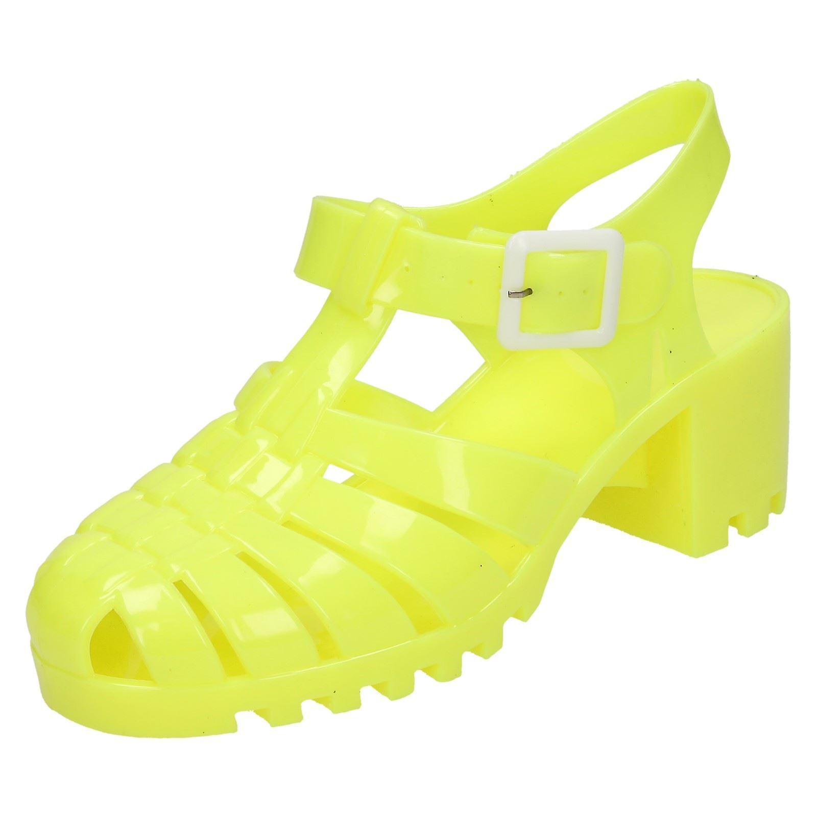Miejscu panie na połowie masywny obcas galaretki sandały F9683 YUozy