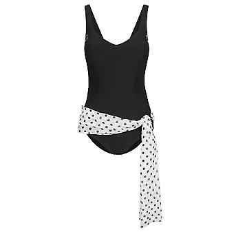 R'sch 1885254-10995 Femmes-apos;s Costume Noir Magique DeSch Maillot de bain One Piece