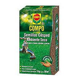 Compo Græsfrø 1 kg Tørt miljø (Have, Andre, Havearbejde, Frø)