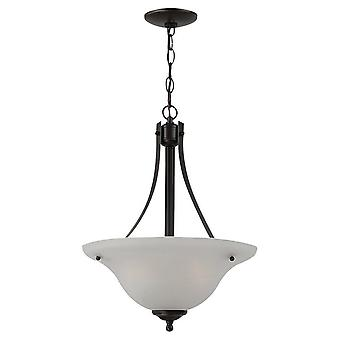 Sea Gull Lighting 65941BLE-782 Windgate 2-Light Large Pendant Heirloom Bronze