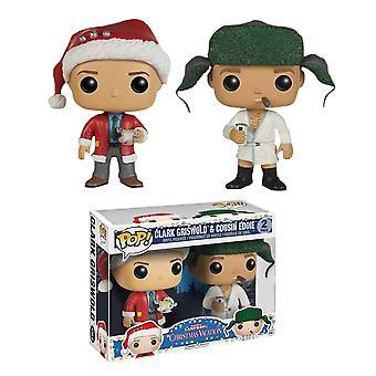National Lampoon's Christmas Vacation Clark & Ed US Pop 2 Pk
