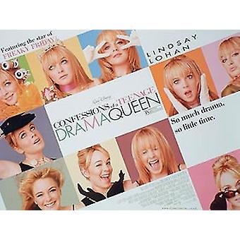 Confessions Of A Teenage Drama Queen Original Cinema Poster
