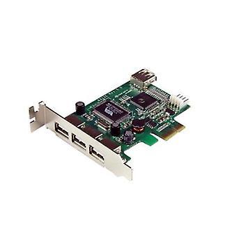Begynte 4 port LP PCI Express USB-kort
