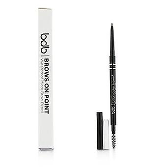 Billion Dollar Brows Brows On Point Waterproof Micro Brow Pencil - Raven - 0.045g/0.002oz
