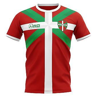 2020-2021 Baskiske Euskadi Away Concept Fodbold shirt - Voksen langærmet