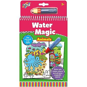 Galt - Water Magic - Animals - Re-usable Colouring Book