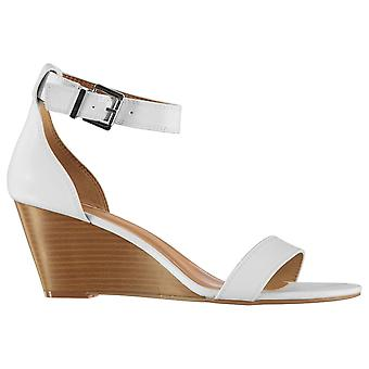 Aldo Womens Ladies Abaussa Stacked Wedge Ankle Strap Sandals Summer Shoes