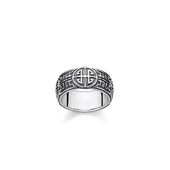Thomas Sabo Sterling Silver Thomas Sabo Ethnic Energy Unisex Ring TR2150-637-21