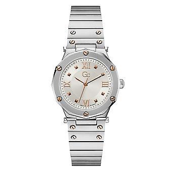 GC Y60001L1MF Spirit Lady Silver Tone Wristwatch