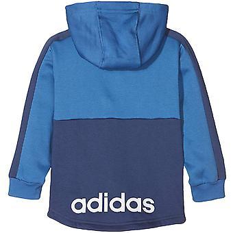Adidas Performance sugari Boys liniar lung mânecă completă zip tracksuit set Royal