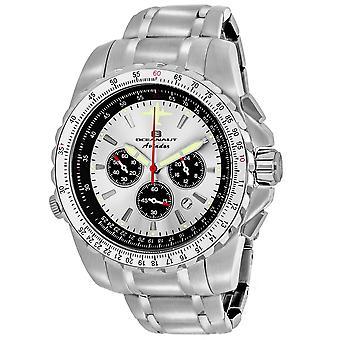 Oceanaut Men's Aviador Pilot Silber Zifferblatt Uhr - OC0110