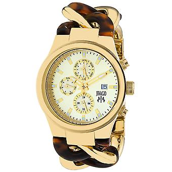 Jivago Women's Lev Gold tone Dial Watch - JV1231