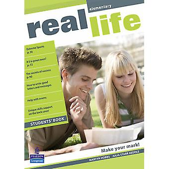 Real Life Global Elementary Students Book by Martyn Hobbs & Julia Starr Keddle