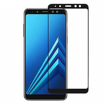 Screen Protector Tempered Glass 2.5 D Samsung A5/A8 2018 Transparent Black