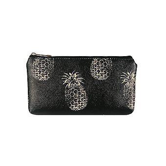 Jewelcity Womens/Ladies Contrast Pineapple Petit sac de maquillage plat