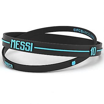 Barcelona 2pk Silicone Wristbands Messi Adults